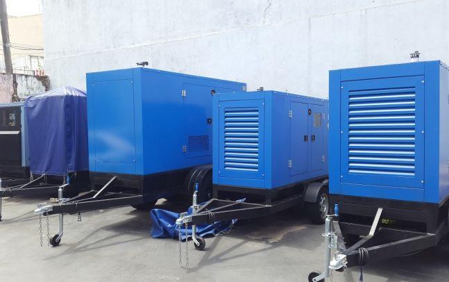 Generadores para obras