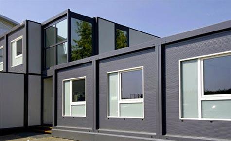 Oficinas prefabricadas for Oficina prefabricada