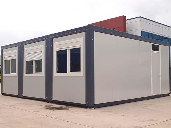 M dulos prefabricados gama advance advance confort algeco for Modulos oficinas prefabricados